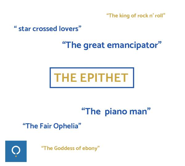 epithets examples