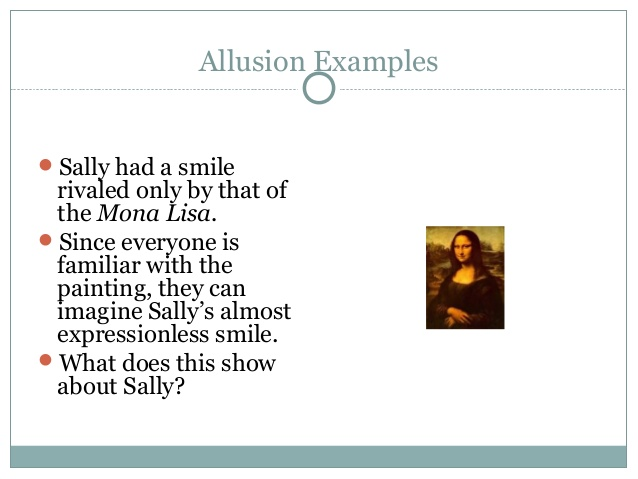 examples of allusion