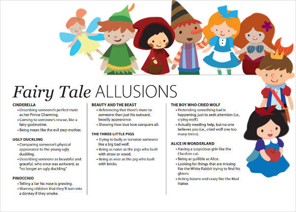fairy tales allusion example for kids
