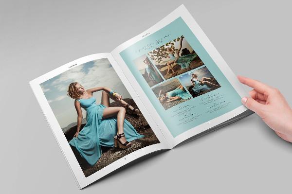 fashion clothing look book catalog