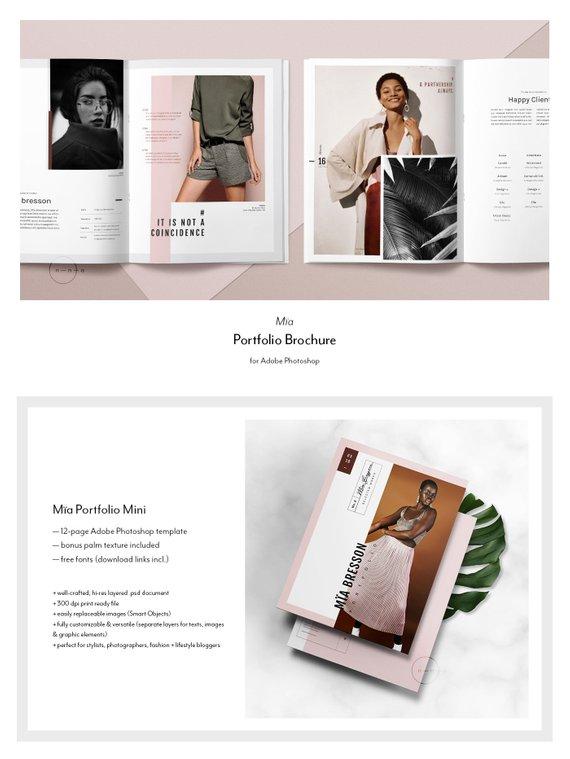 fashion lookbook luxury lifestyle magazine example