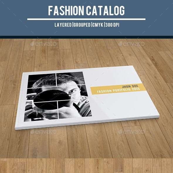 fashion photography catalog