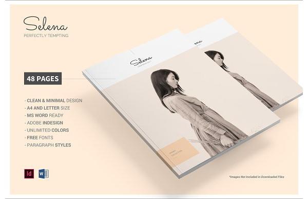 fashion and clothing catalog example