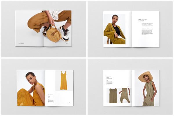 fashionable clothing catalog example1