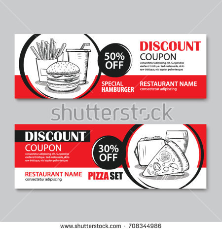 fast food restaurant breakfast discount coupon example