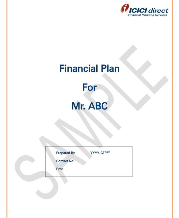 financial plan template example