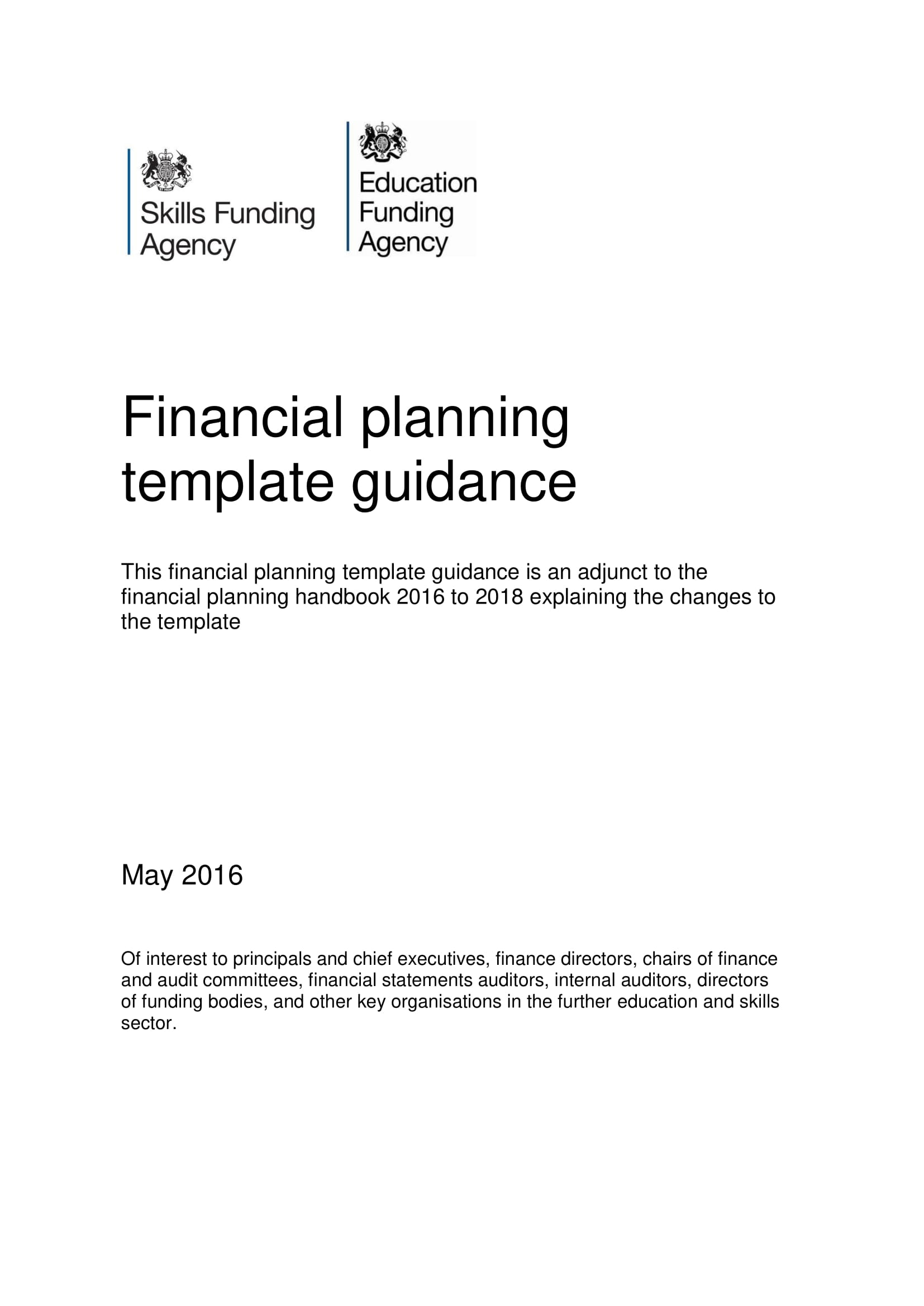 10 Business Financial Plan Template Examples - PDF