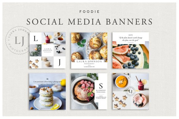 foodie social media banner example