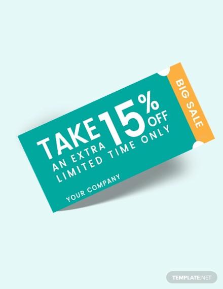 free printable coupon template