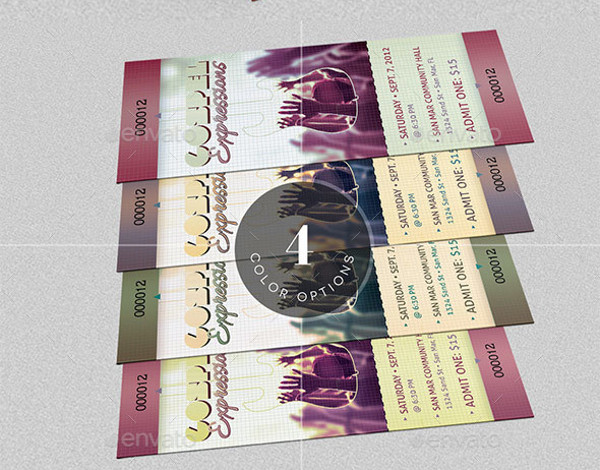 8 gospel concert ticket designs examples psd ai indesign