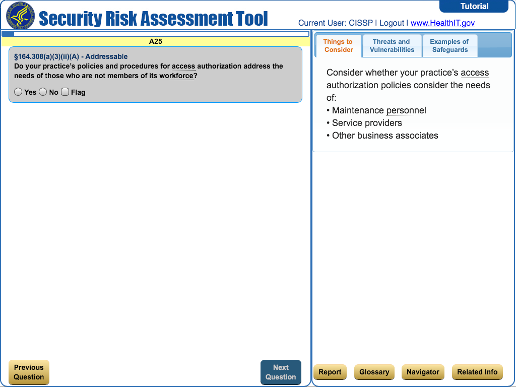 hipaa security risk assessment tool