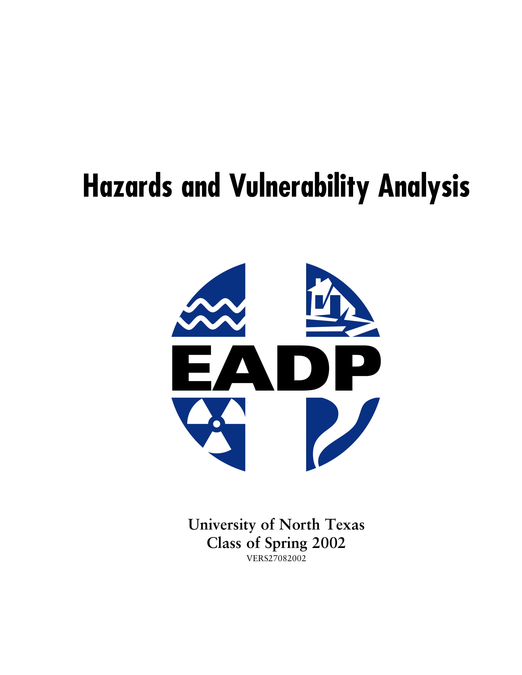 hazards and vulnerability analysis example