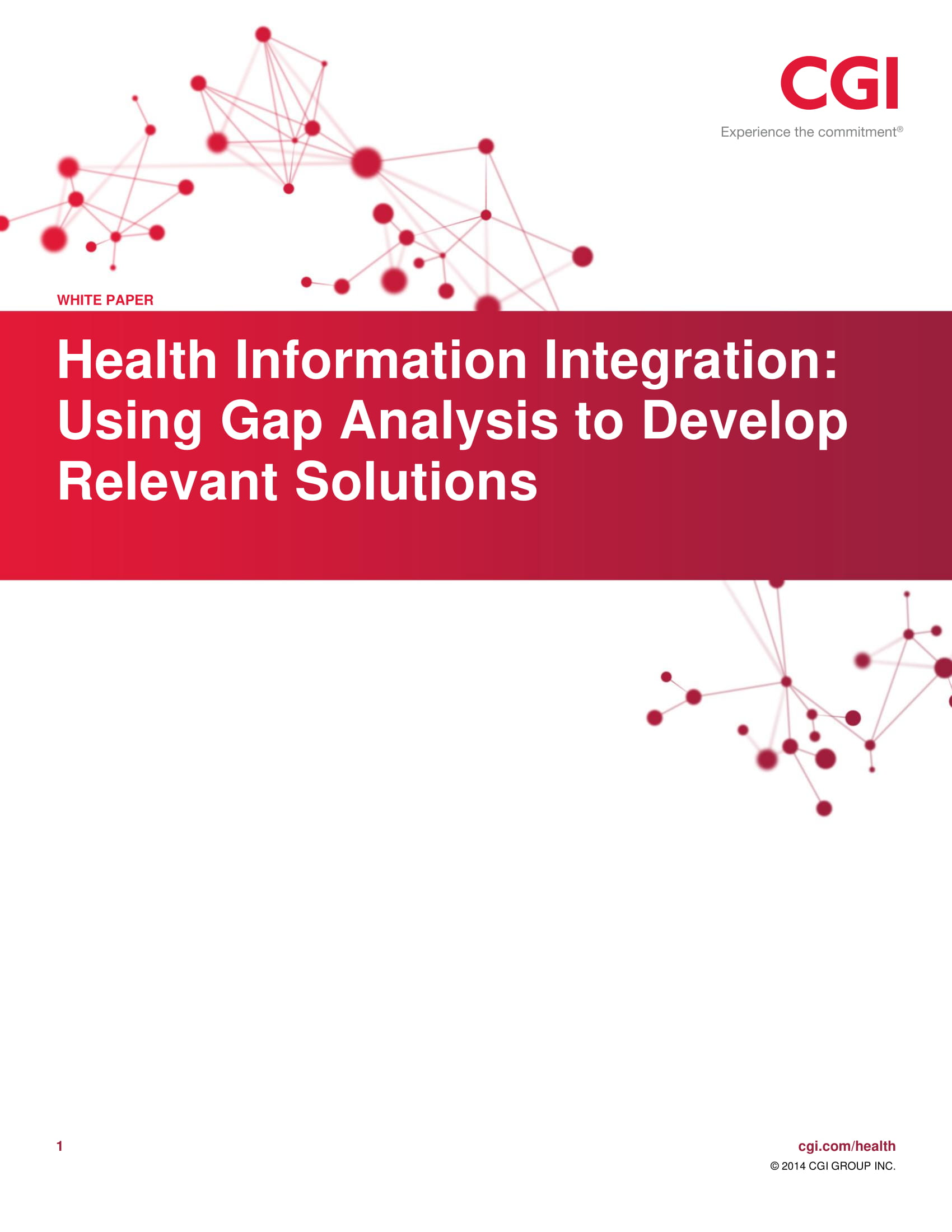 health information integration using gap analysis to develop relevant solutions example 01