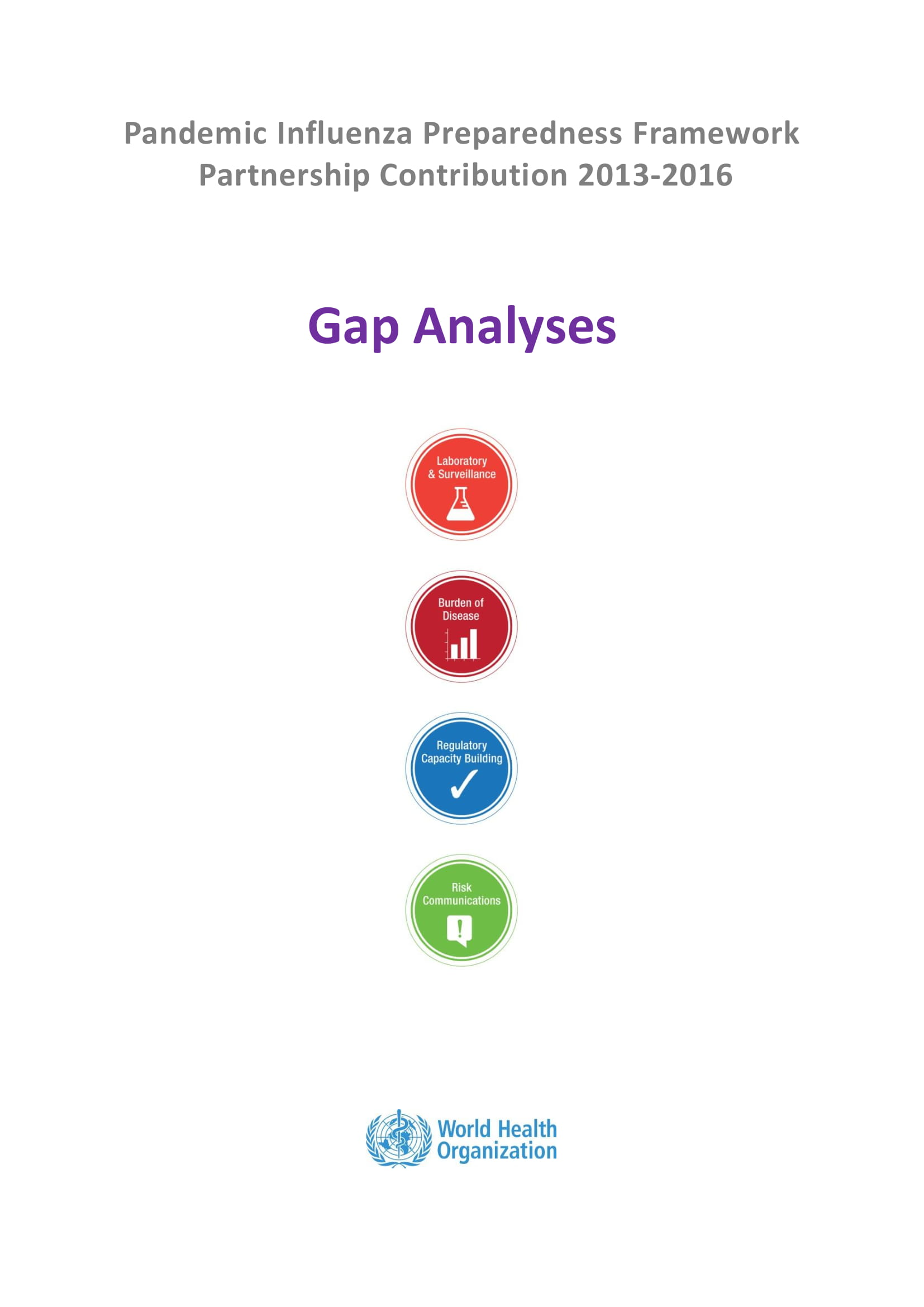 healthcare gap analysis pandemic influenza preparedness framework partnership contribution example 01