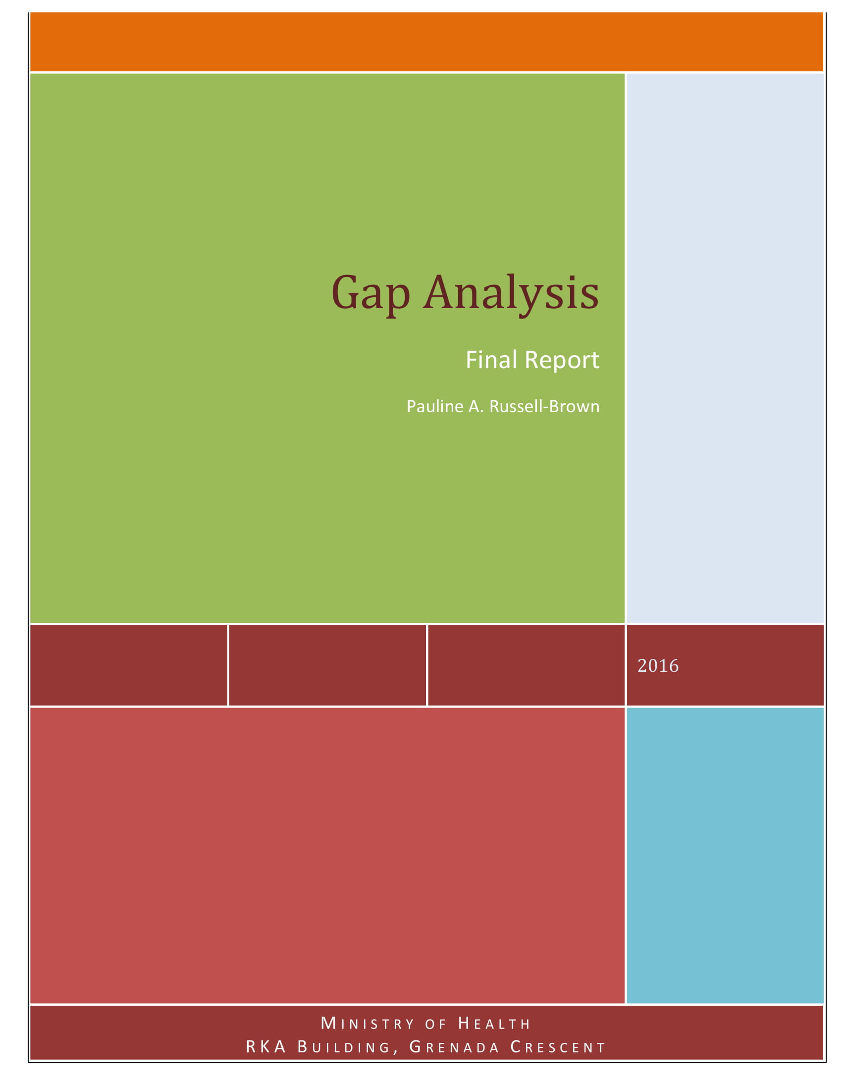 healthcare gap analysis report example 01
