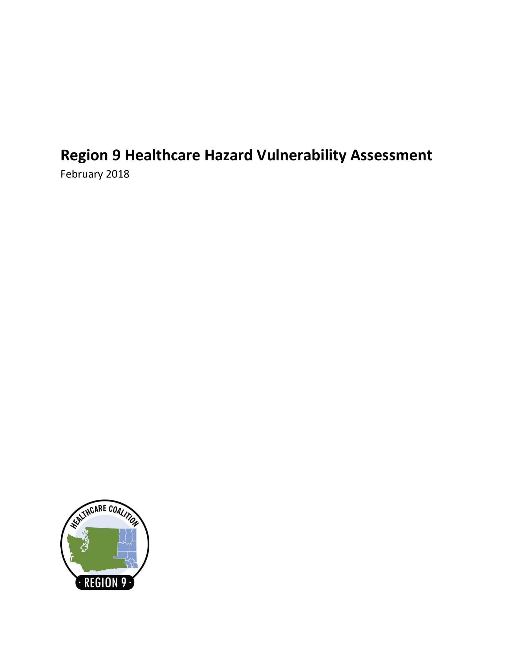 healthcare hazard vulnerability analysis example