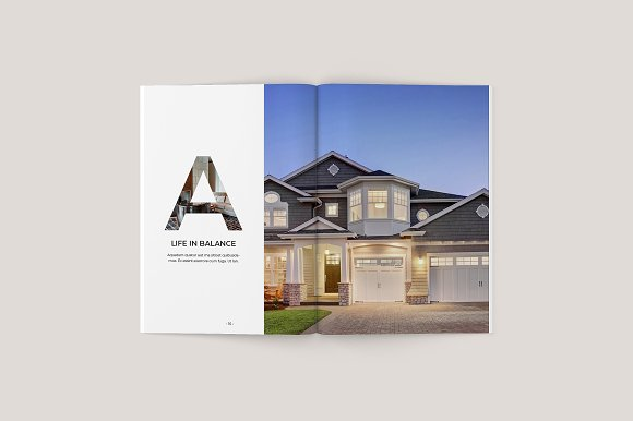 home decor brochure example