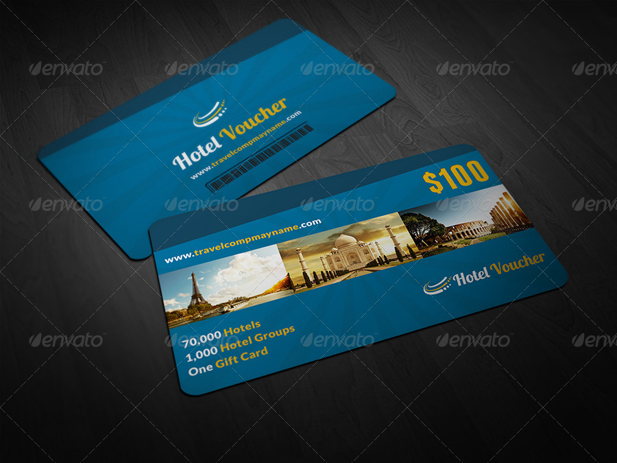 hotel gift voucher example