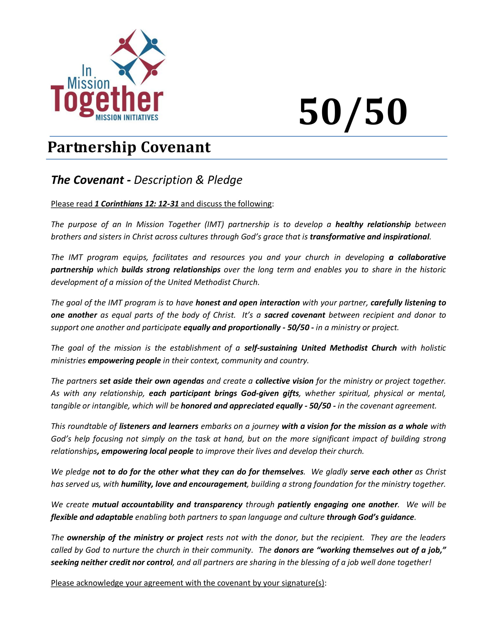 9 50 50 Partnership Agreement Templates Examples Pdf