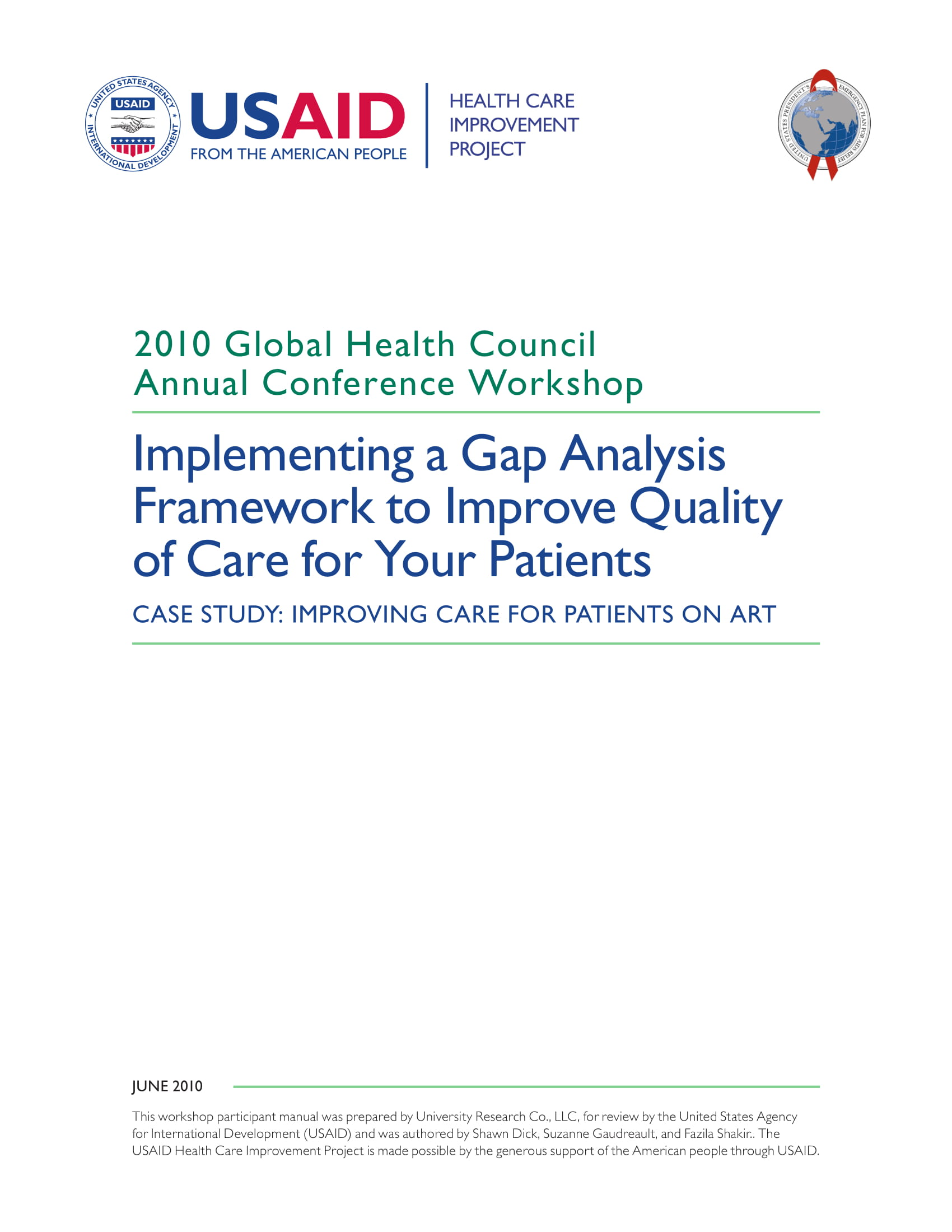 implementing a gap analysis framework to improve quality of care for your patients example 01