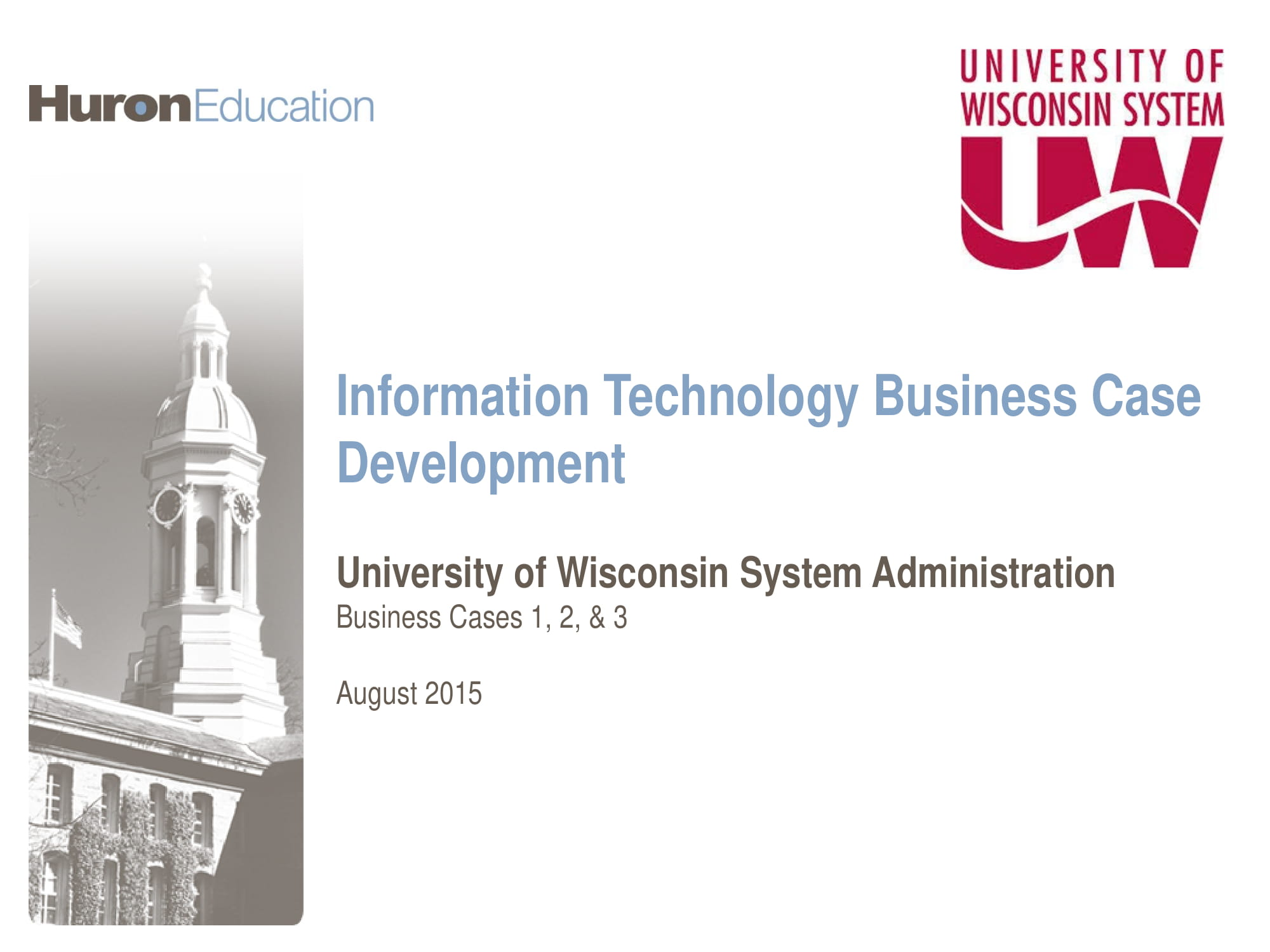information technology analysis for business case development example 01