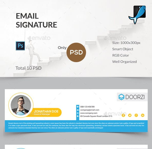 innovative email signature examples1