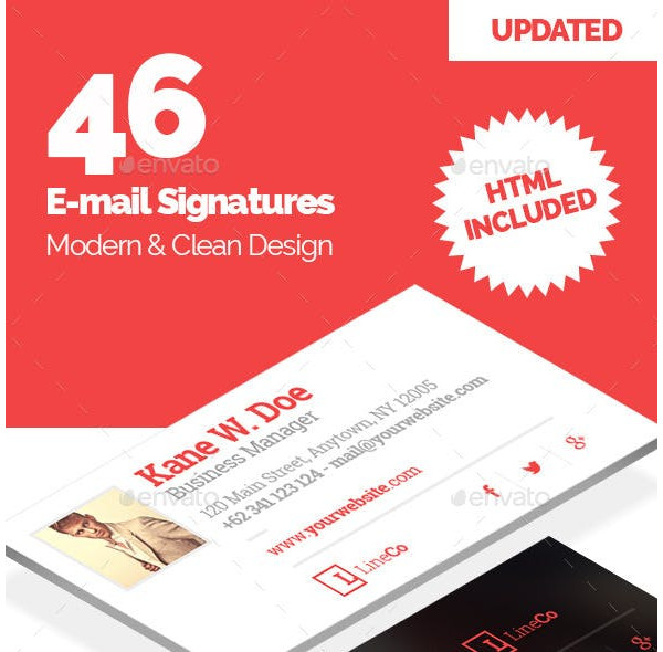 innovative and modern email signature designs1