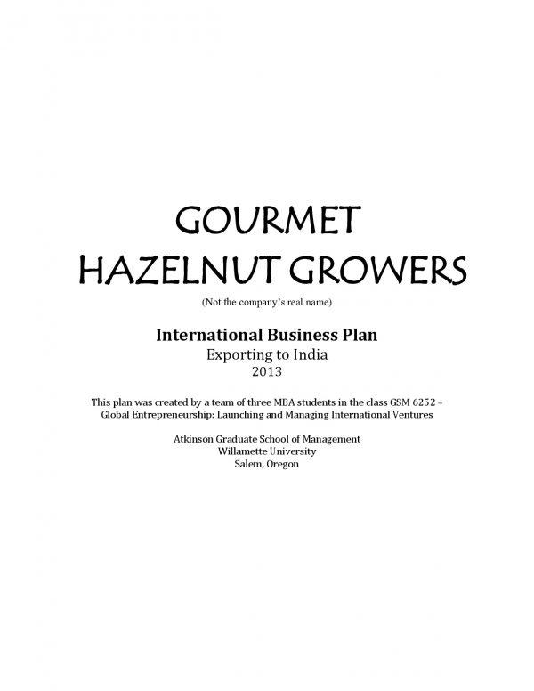 international export business plan example 001 e1536306506603