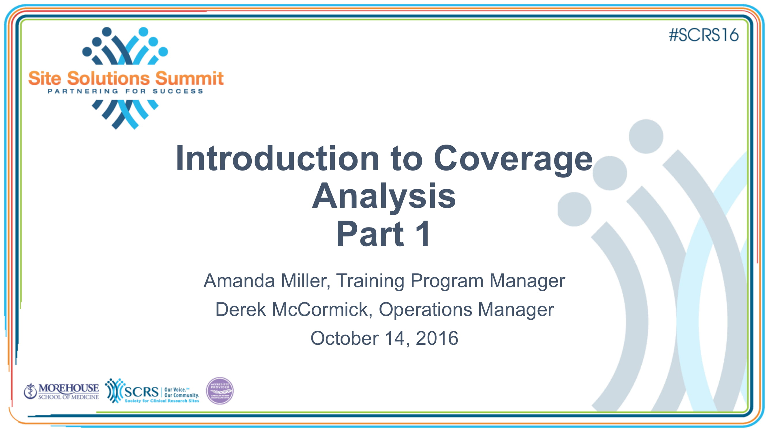 introduction to coverage analysis final