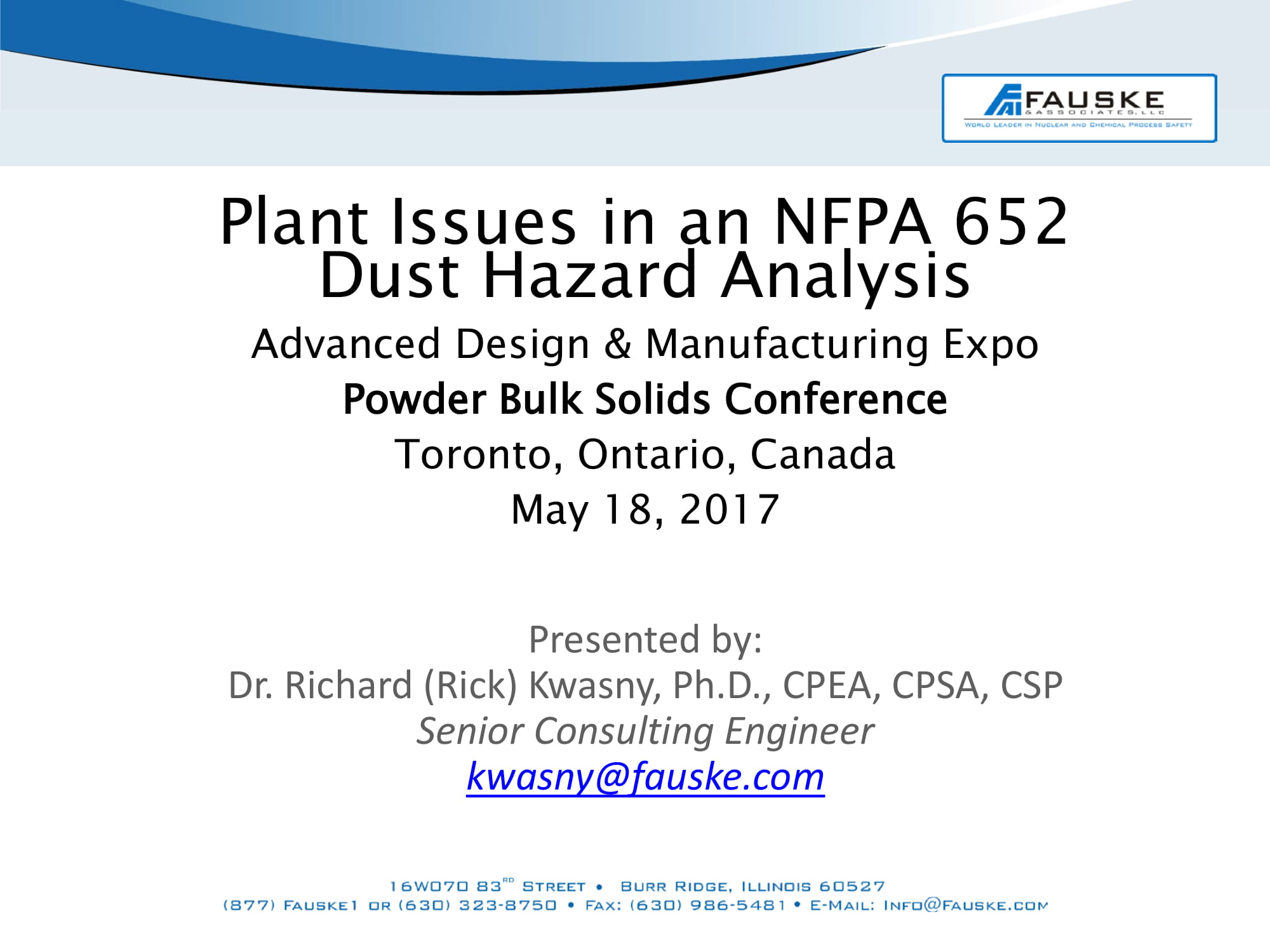 issues in dust hazard analysis nfpa 652