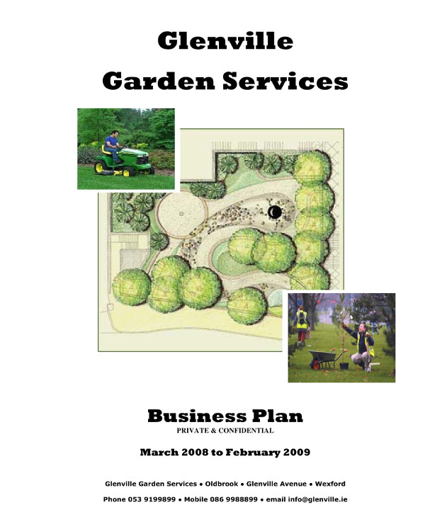 lawn care and garden services business plan example