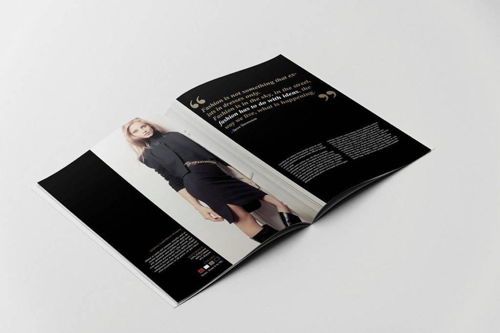 Luxury Fashion Portfolio Catalog Example