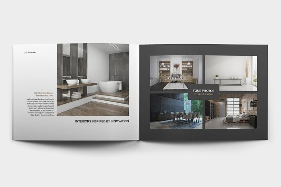 lynx home decor brochure template