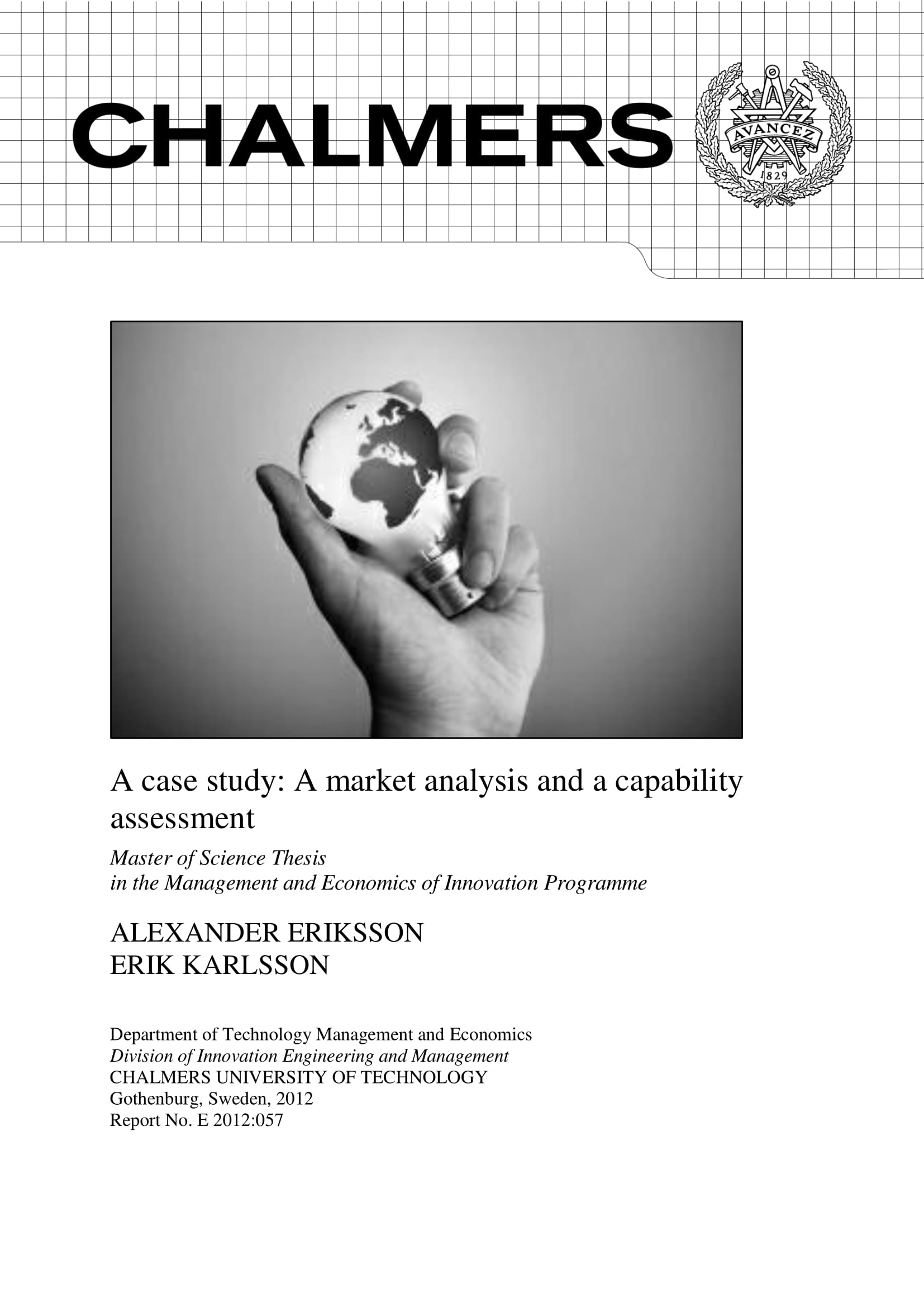 market analysis and capability assessments for bridging market gaps example 001