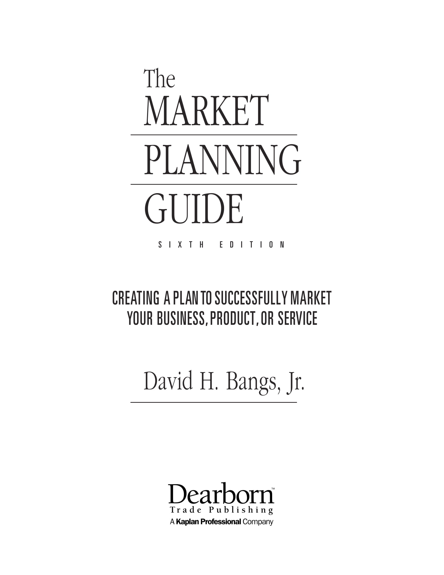 market planning guide for marketing an accounting firms business and services example 001