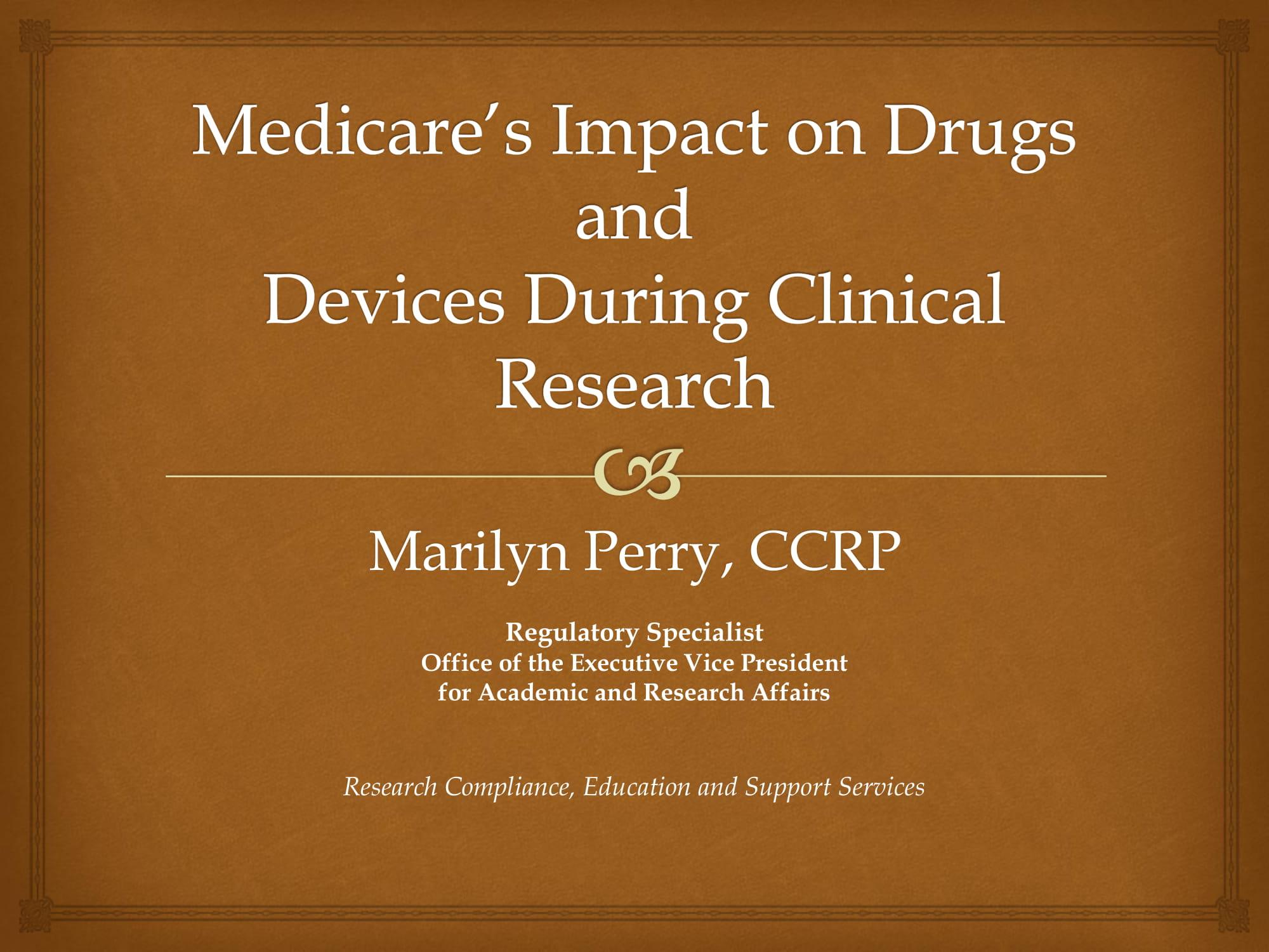 medicare coverage analysis 2013