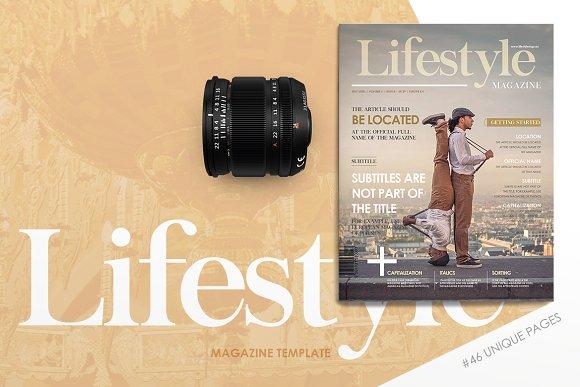 men's luxury lifestyle magazine example