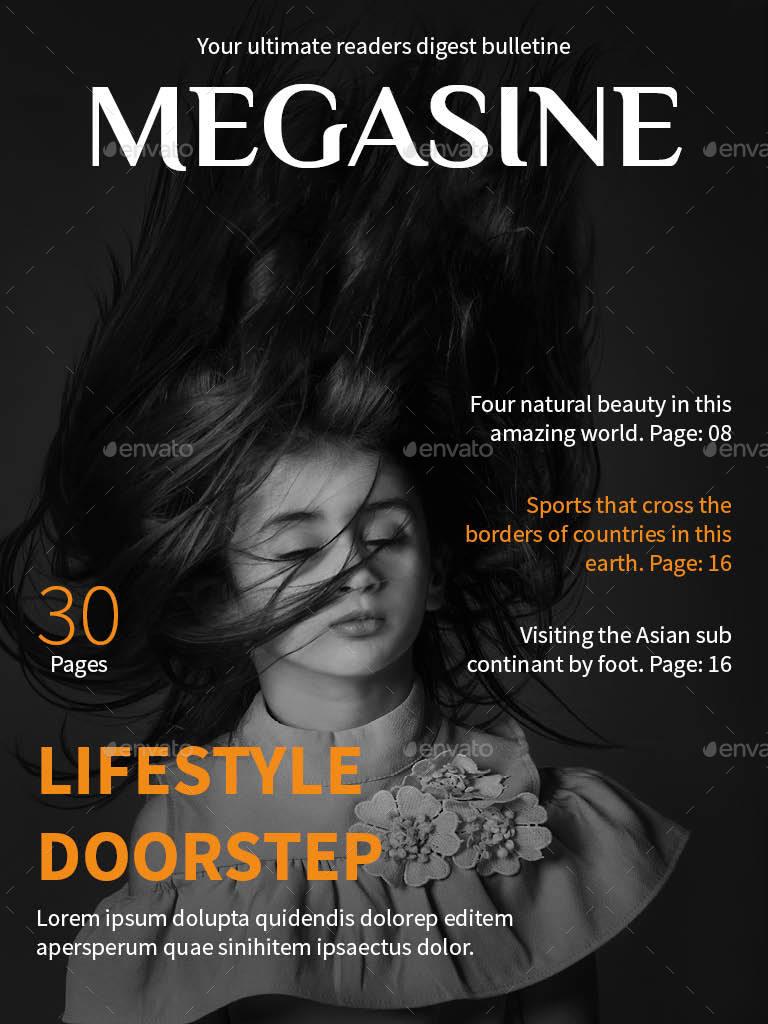 minimal e magazine example