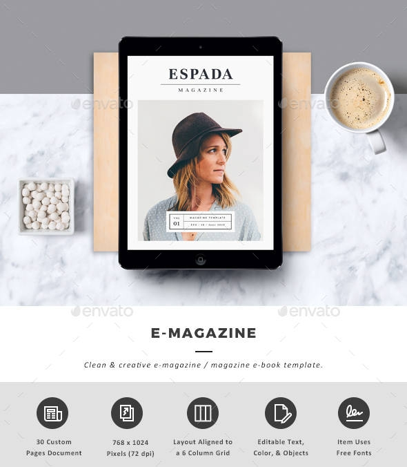 minimalist fashion e magazine