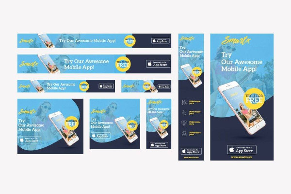 mobile app web banner example1