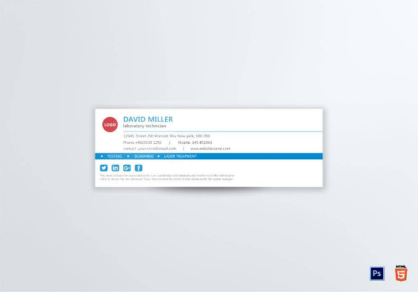 modern gmail email signature example1