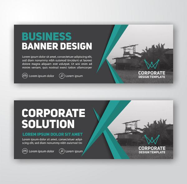 modern corporate banner