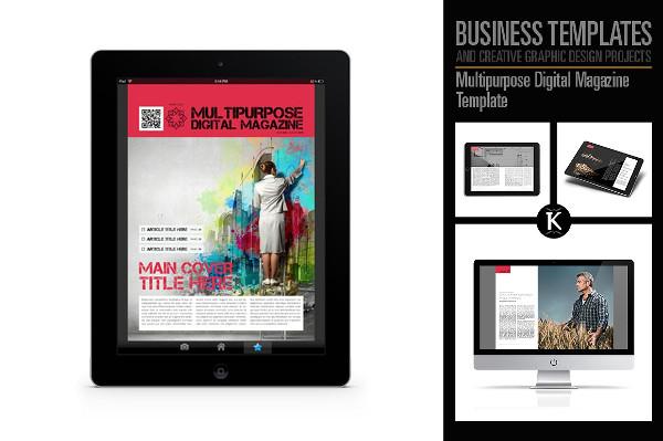 multipurpose digital magazine