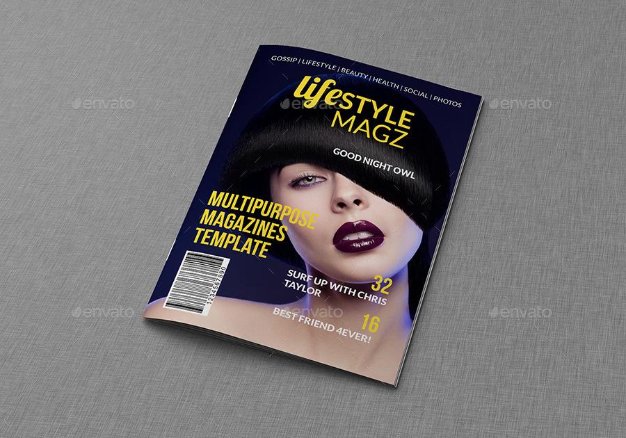 multipurpose luxury lifestyle magazine template example