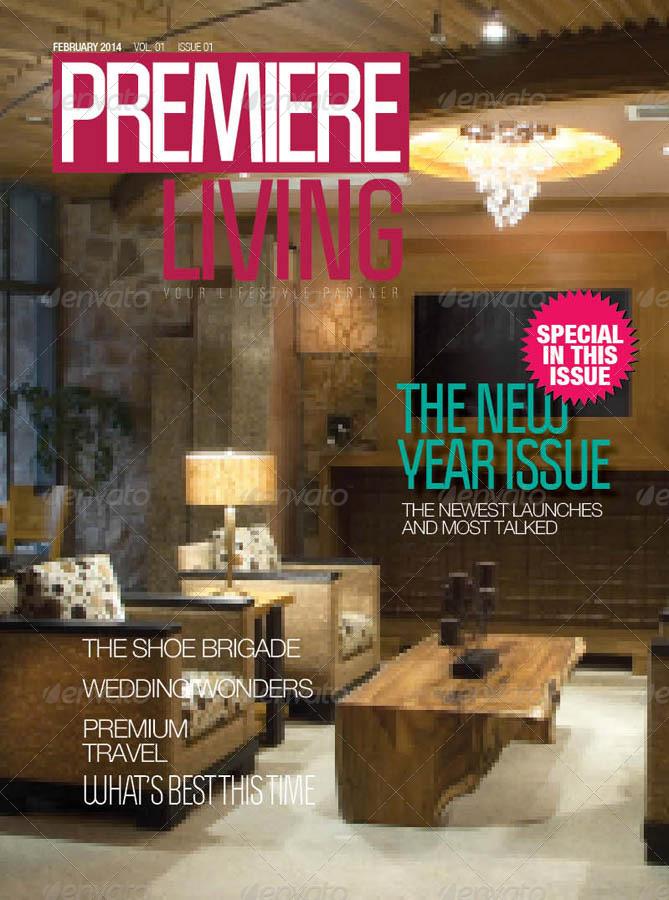 premier living luxury lifestyle magazine example