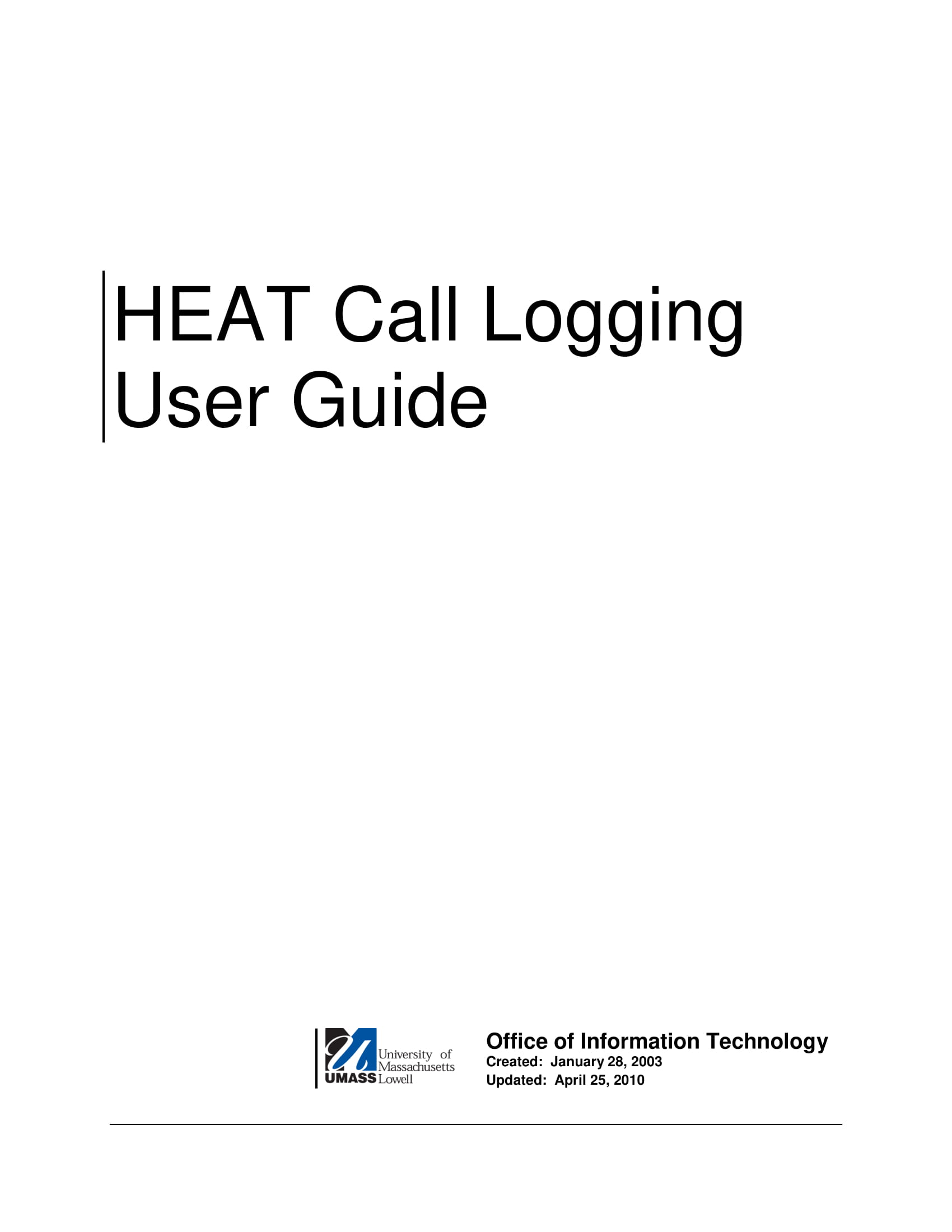 printable call logging user guide example 01