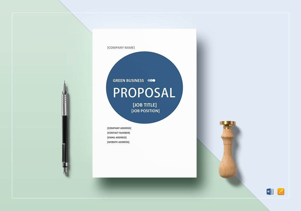 professional business proposal example