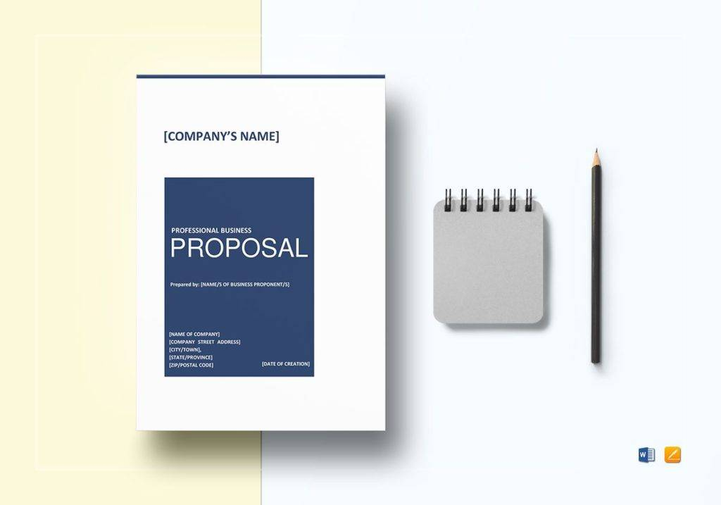 professional business proposal template 1024x717