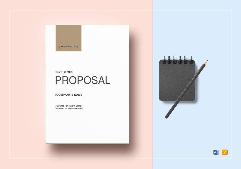 professional investor business proposal example 1024x717