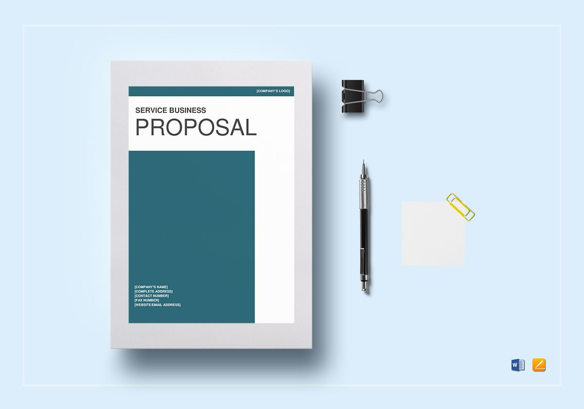 professional service business proposal example
